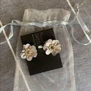 Inc flower earrings